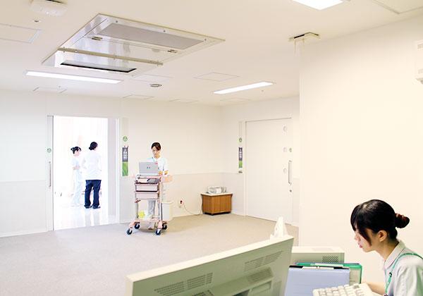 アメニティ婦人科病棟・母体胎児集中治療室(北棟6階)