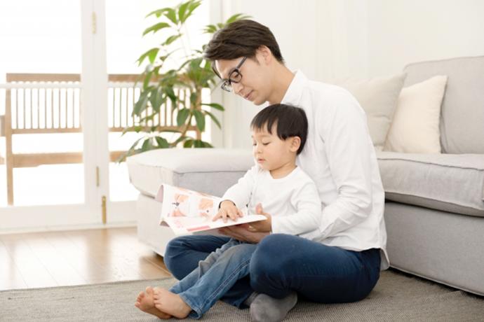 イメージ:親子で絵本